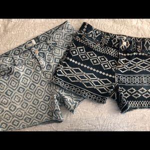 Lot of 2 Old Navy Denim Shorts, EUC, size 14, $12